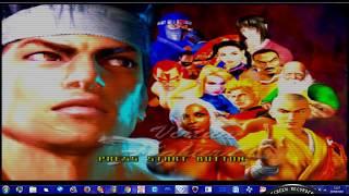 VIRTUA FIGHTER 4 PS2 HD KAGE NINJA FULL ARCADE GAMEPLAY