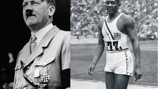Jogos olímpicos de 1936 Jesse Owens, Hitler, Roosevelt e preconceito. thumbnail