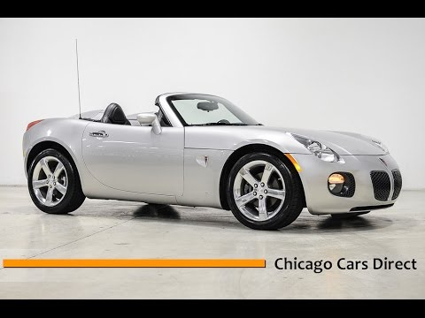 Chicago Cars Direct Reviews Presents A Pontiac Solstice GXP - Sports cars direct