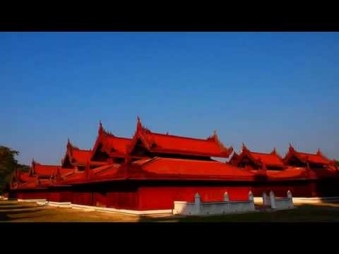Amazing Golden Temple Mandalay - The Second Largest City Part II