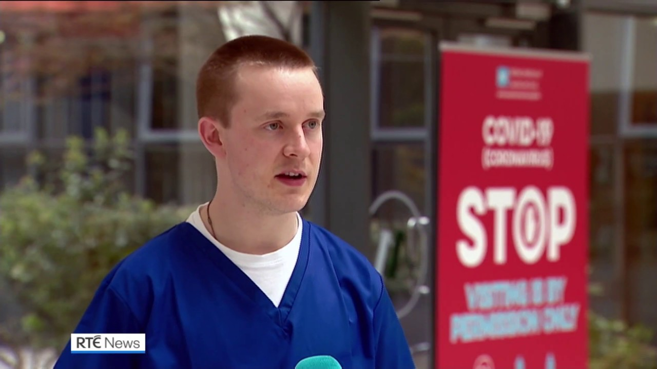 Irish trainee priest returns to work as doctor during coronavirus pandemic