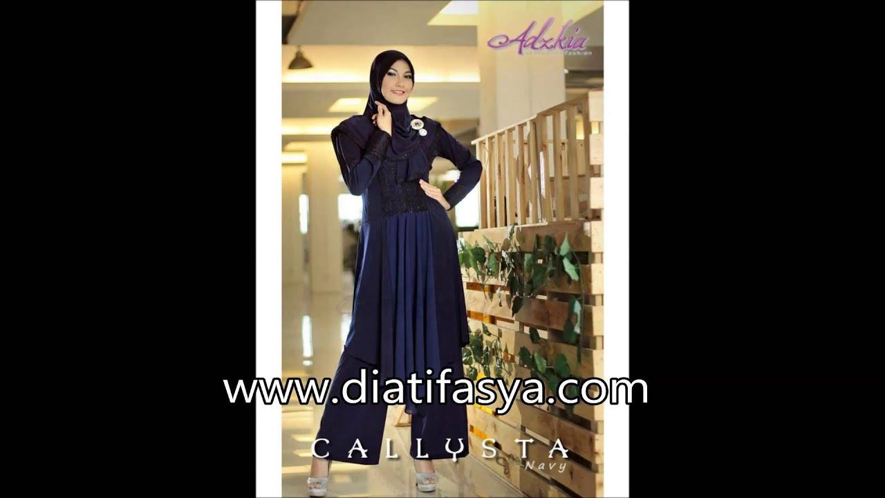 Baju Muslim Casual 2015 Terbaru Fashion Hijab Style 2015 Fesyen Muslimah Terkini 2015 Youtube