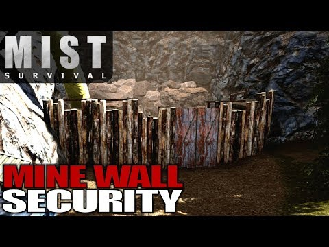 MINE WALL SECURITY | Mist Survival | Let's Play Gameplay | S01E60