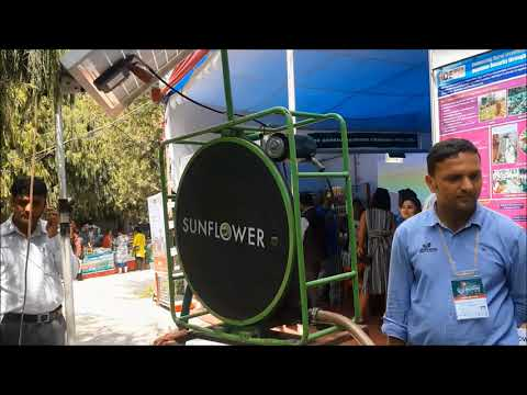 Solar Powered Sunflower Pump by IDE Nepal | Agro Trade Investment Exhibition Conference 2017 Nepal
