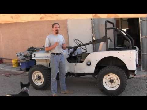 Mounting a Browning 1919 on a Jeep