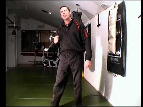 Wing Chun Wallbag Kicking