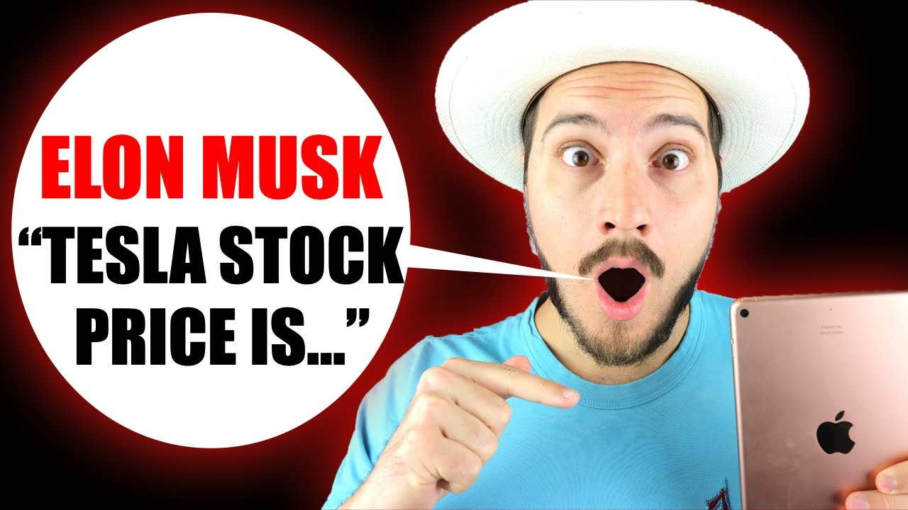 you won't believe what Elon Musk said about Tesla Stock Price today!
