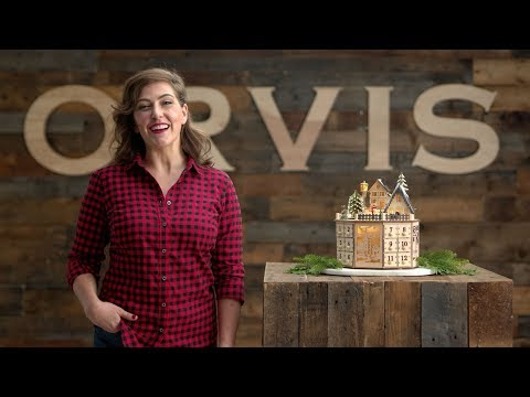 ORVIS - Wooden Village Advent Calendar