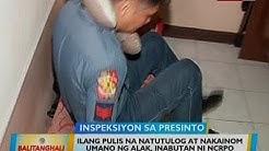 BT: Ilang pulis na natutulog at nakainom umano ng alak, inabutan ni NCRPO Chief Eleazar