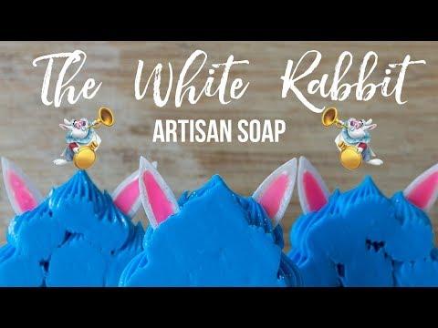 The White Rabbit Custom Soap - Inspired By Alice In Wonderland | Royalty Soaps