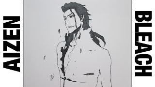 Drawing Sousuke Aizen || Bleach ブリーチ