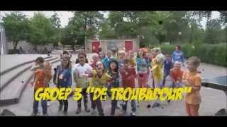Lipdub, groep 3 basisschool de Troubadour