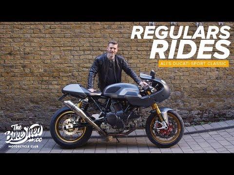 Regulars Rides: Ali's Ducati Sport Classic