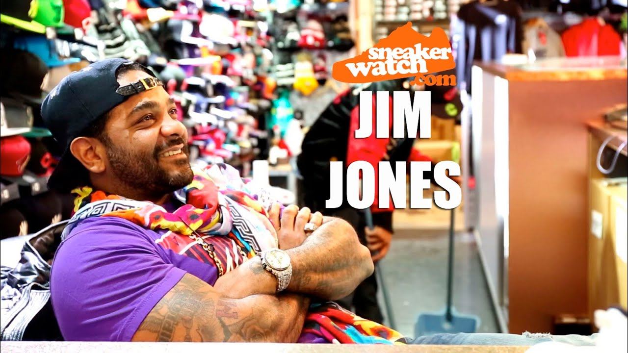 26ddbd8d70b9c2 Jim Jones Reveals Which Shoe He Will Never Ever Part With - YouTube