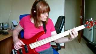 Dancing Queen bass cover