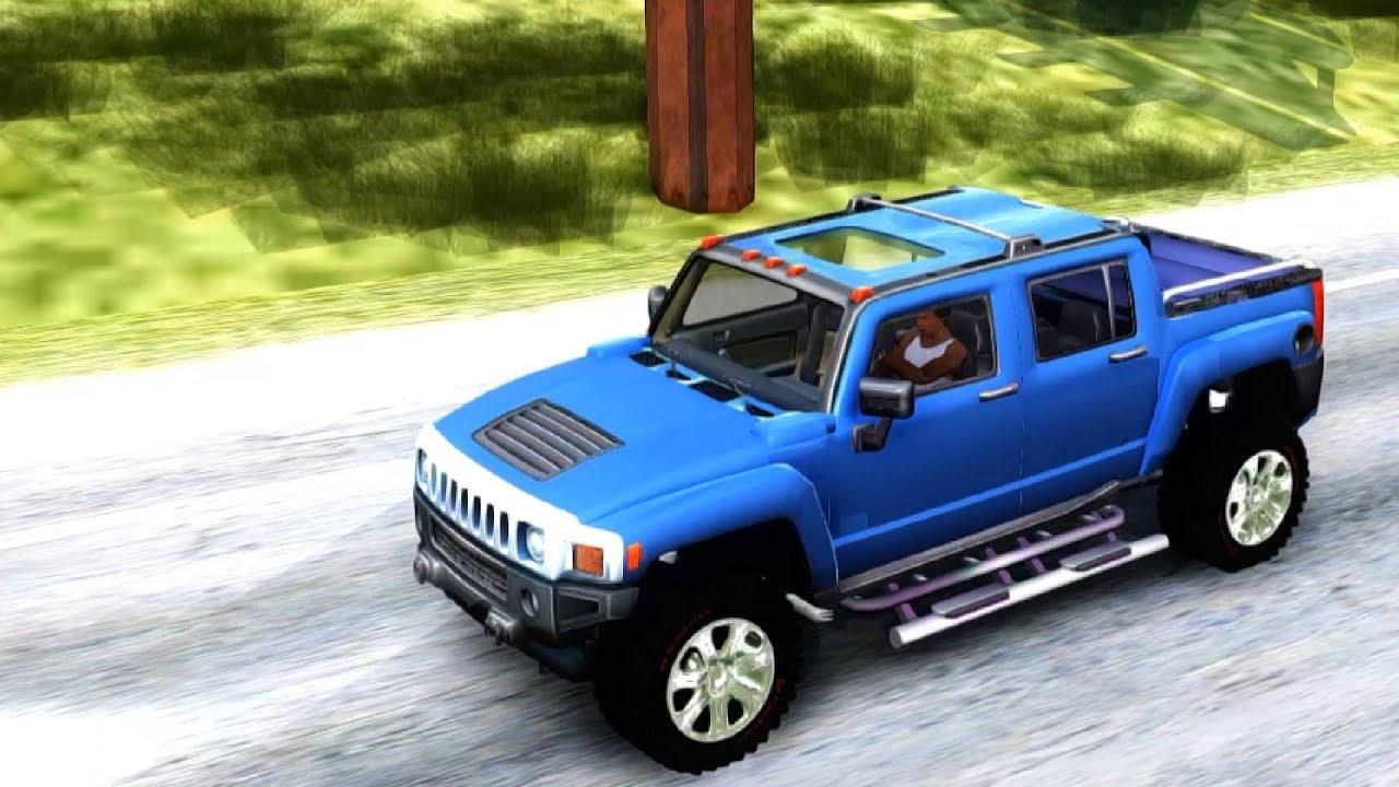 Hummer H3t GTA San Andreas