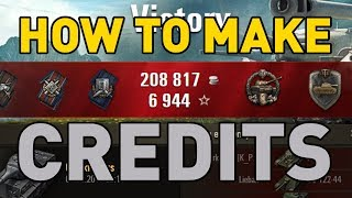 How to Make Credits in World of Tanks