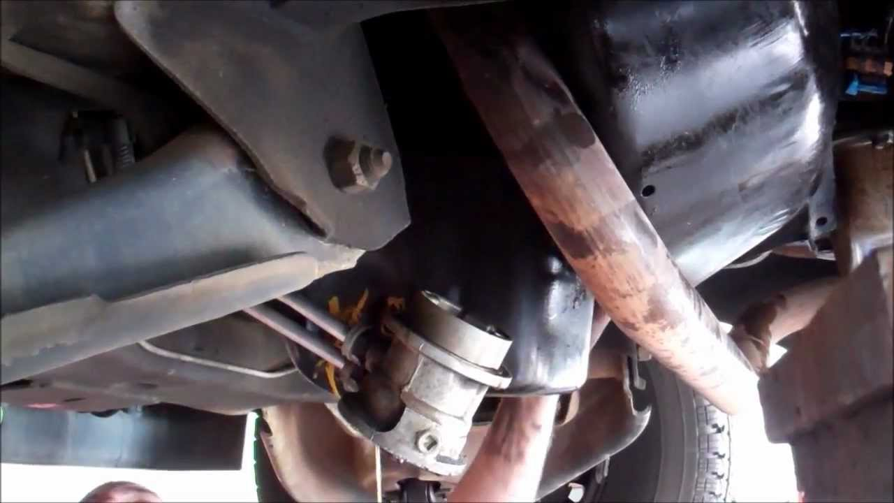 1997 Gmc Truck Engine Oil Pan Gasket Replacement Youtube
