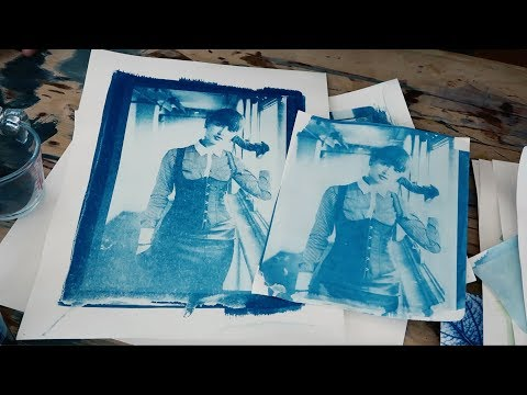 Cyanotype Printing - My First Go & FAIL :/