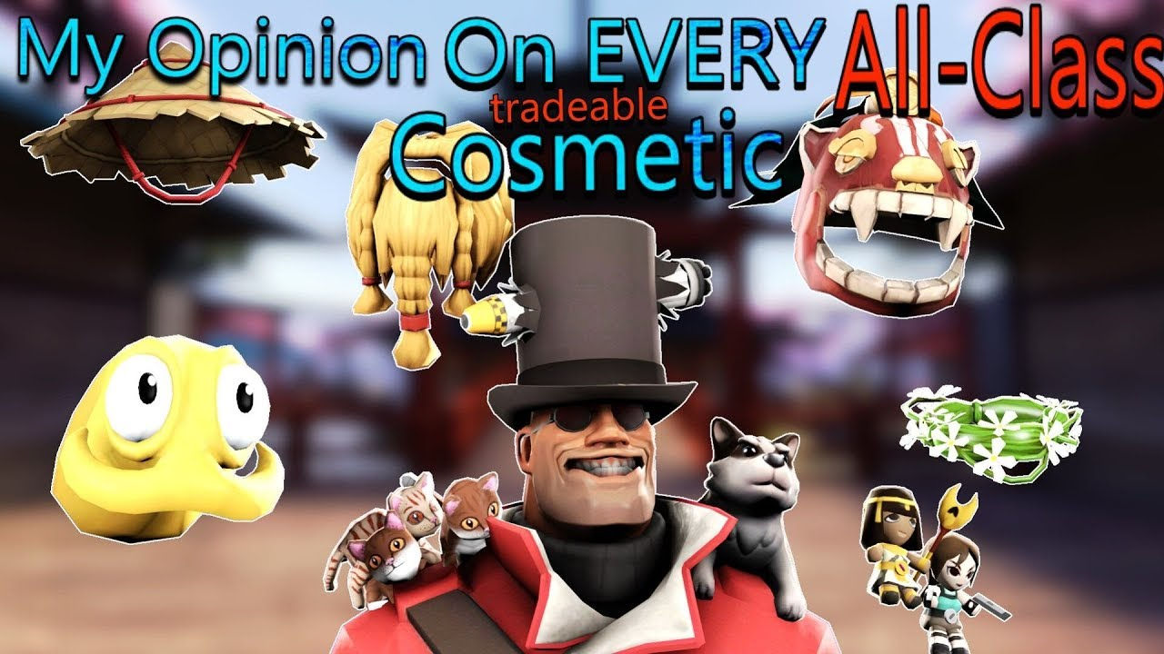TF2 - My Opinion on EVERY Tradable All-Class Cosmetic in Under 11 Minutes!