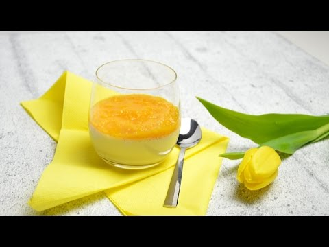 kokos panna cotta mit mango thermomix youtube. Black Bedroom Furniture Sets. Home Design Ideas