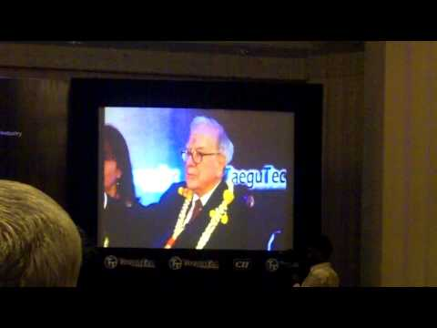 Warren Buffett in India - Question and Answer in Bangalore