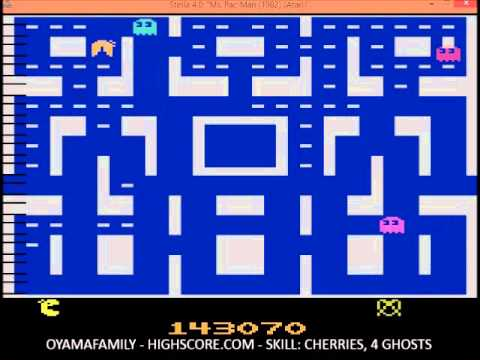 2600 MS. PACMAN  266330 points