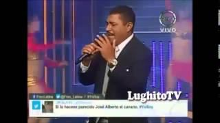 """Cristhian Briceño - YO SOY José Alberto """"EL CANARIO"""" SUEÑO CONTIGO - 28 04 2014"""