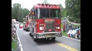 Golden's Bridge Fire Dept 100th Anniversary Parade