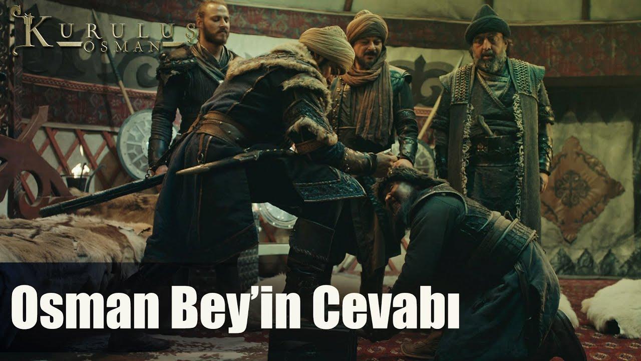 Osman Bey'in vergi talebine cevabı ağır oldu - Kuruluş Osman 56. Bölüm