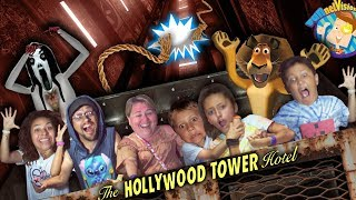 The ELEVATOR DROPPED!! FUNnel Vision DISNEY WORLD & UNIVERSAL STUDIOS Vlog