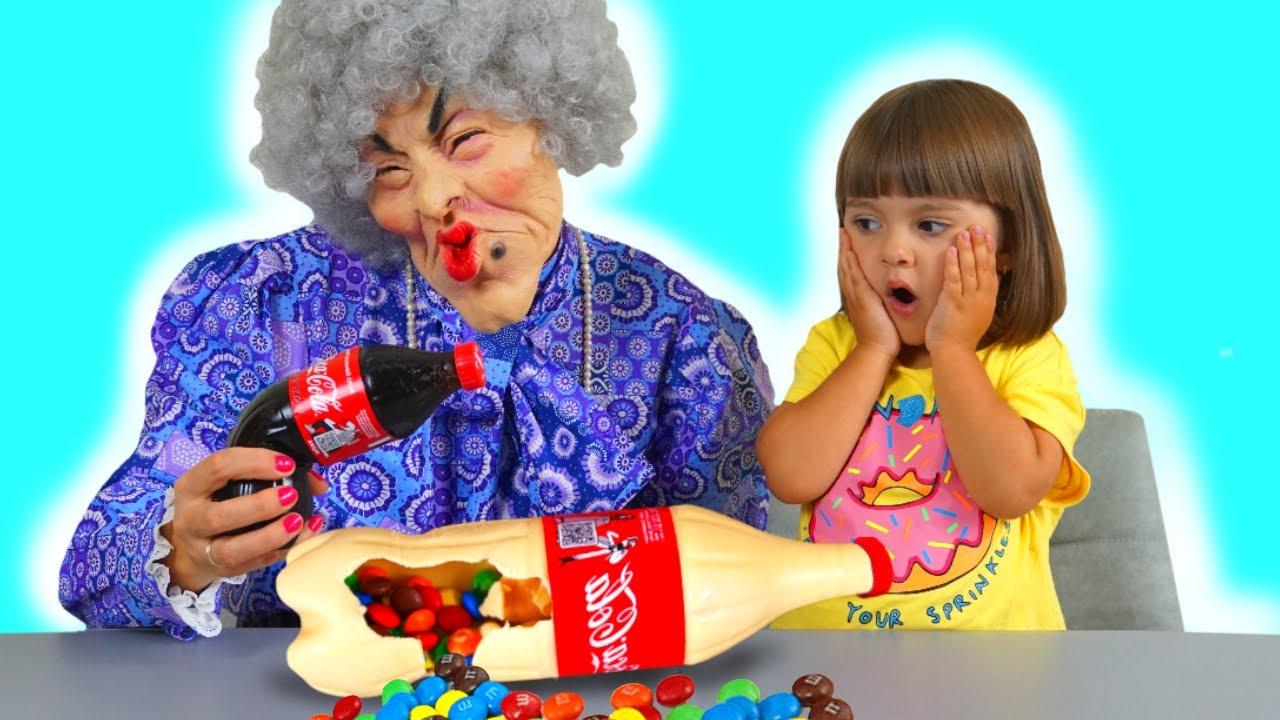 Арина Шоколад и Газировка Челлендж для няни