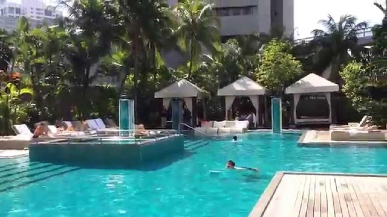 Grand Hyatt Singapore Pool Piscine Du Grand Hyatt Singapour Youtube