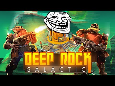 ULTIMATE TROLL MISSION | Let's Play Deep Rock Galactic #10 [ 3-Player Co-op ]