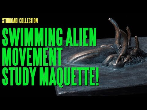 The studioADI Collection - Swimming Alien Movement Study