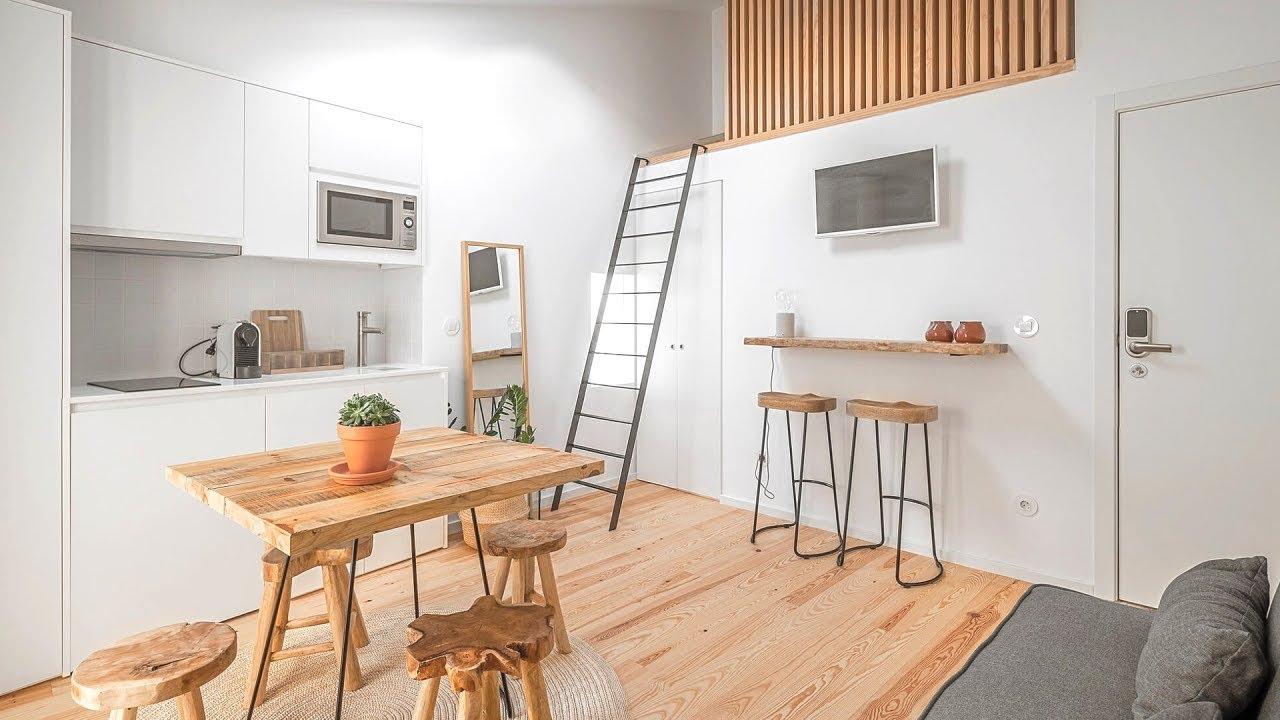 Tiny Apartment 24 1sqm 2 Bedroom Youtube