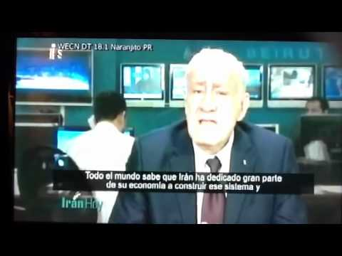 Iran TV in Puerto Rico on Nuclear Iran. The Camel