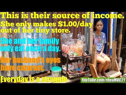 Travel to Manila Philippines and Meet this Family Who Live in a Dollar a Day. The Filipino Poor