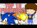 Top 10 BEST FRIENDS in Video Games! - ConnerTheWaffle