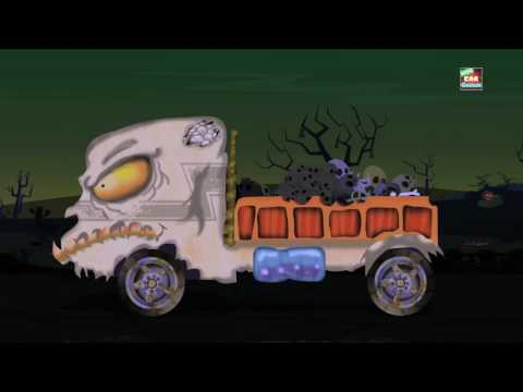 Scary Mail Van | Halloween Car Repair | Car Garage Video For Kids | cartoon cars for kids