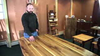 Poised Fine Woodworking Guild | Elm Table