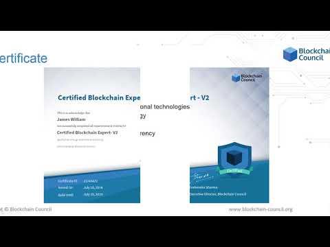 Certified Blockchain Expert™ V2