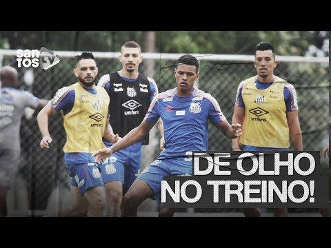 SANTOS TREINA EM BH E JÁ SE PREPARA PARA O CLÁSSICO | DE OLHO NO TREINO (21/10/19)