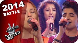 Christina Aguilera - Beautiful (Renaz/Soufjan/Pia) | The Voice Kids 2014 | Battles | SAT.1