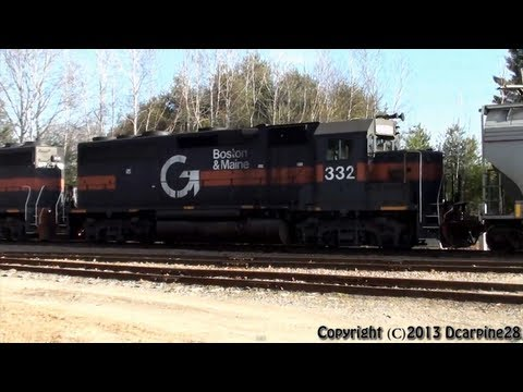 (HD) A Trio of Guilford Power travels through Maine