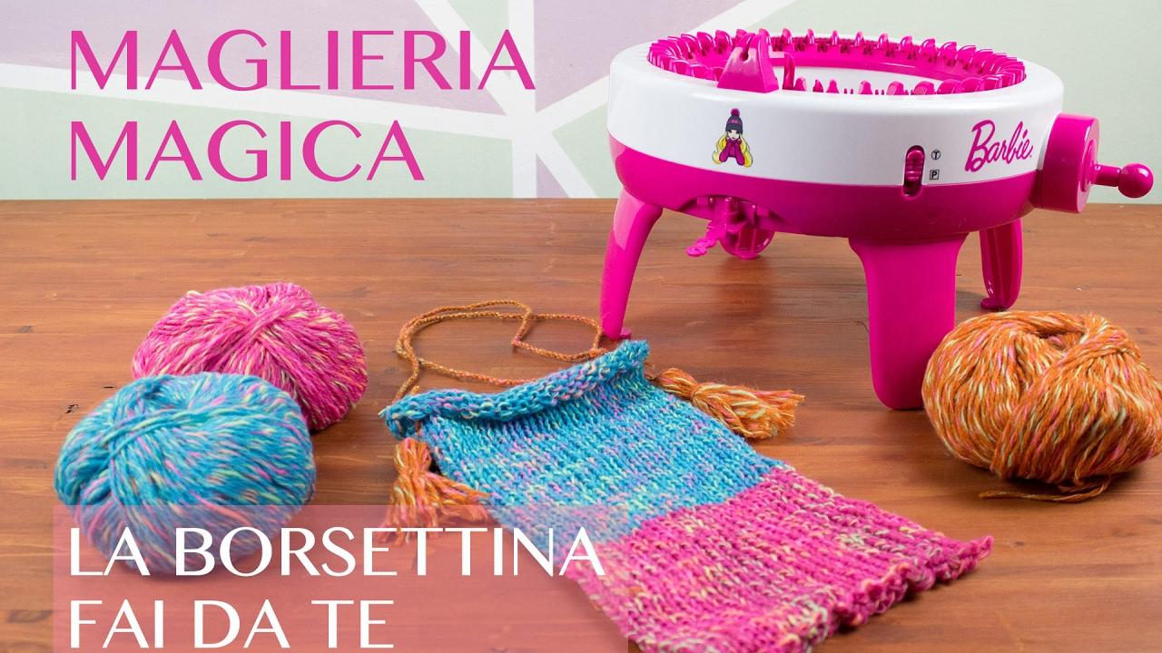 Maglieria magica borsetta fai da te youtube for Cucina giocattolo fai da te
