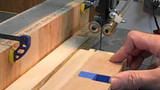 Wedged Through-tenon Joint, Part Two