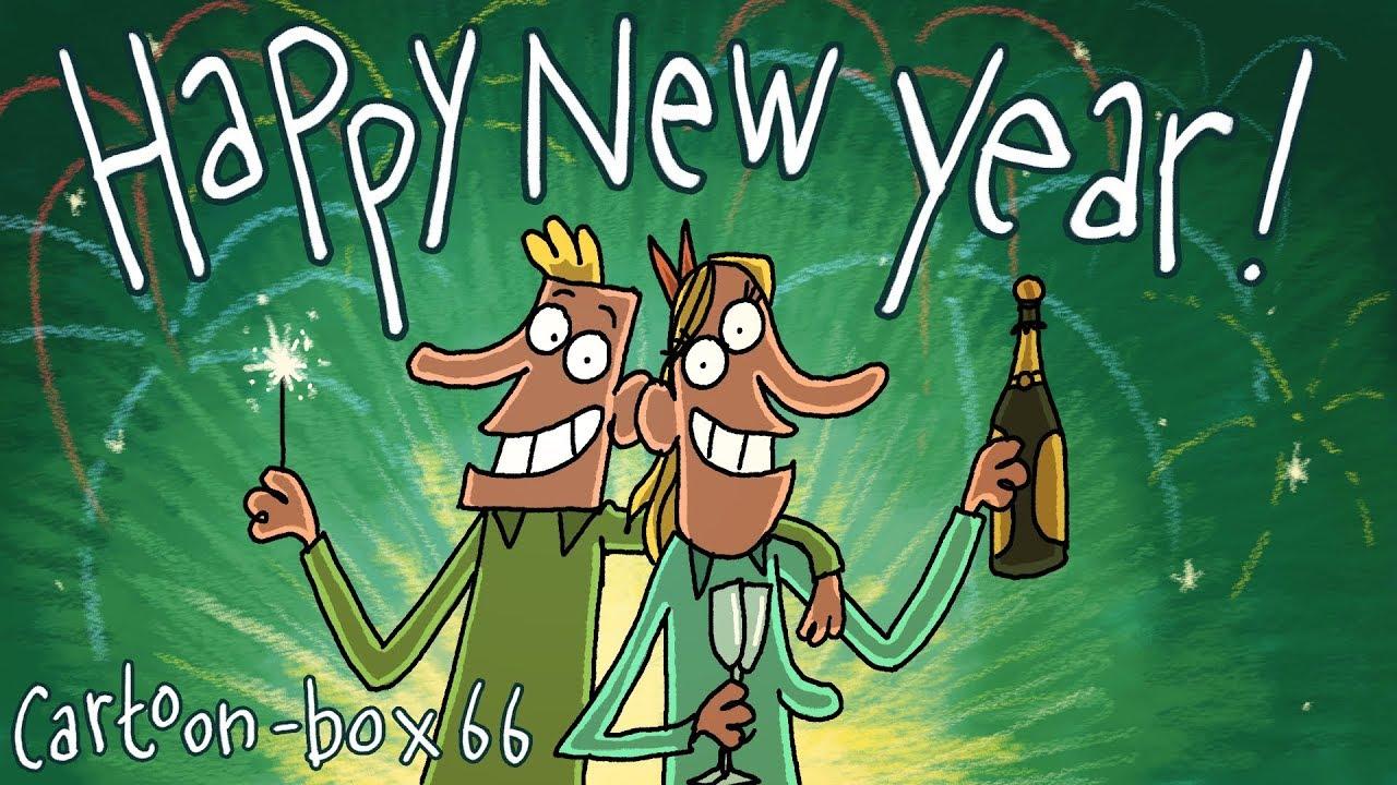 happy new year cartoon box 66 youtube happy new year cartoon box 66
