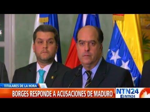 """Julio Borges a Maduro: """"Nosotros lo queremos, como estará, fuera del poder, preso"""""""