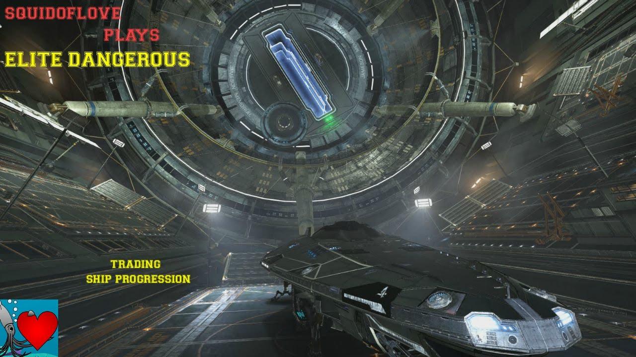 Elite Dangerous Gameplay - Trading Ship Progression - YouTube